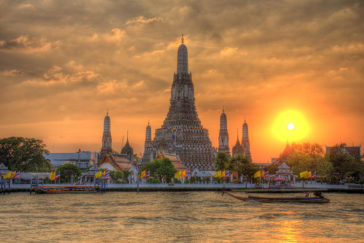 rénovation temple Wat Arun