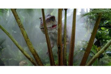 Dinosaure géant en Afrique