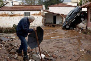 inondation en grèce