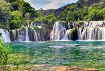 Site touristique en Croatie