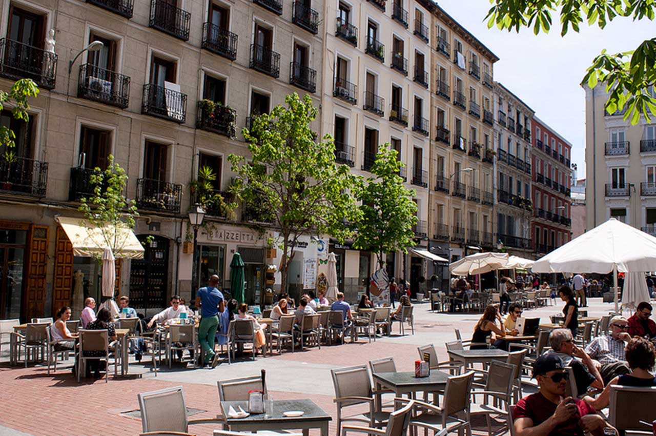 voyage pour Madrid